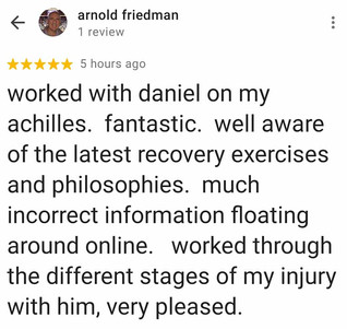 Online Physio Review: Arnold Friedman