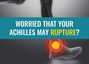 Are you worried about rupturing your Achilles tendon? Then read this.