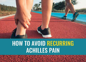 How to avoid recurring Achilles pain in runners