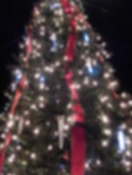 12ft tall Christmas tree at Winter Snowland