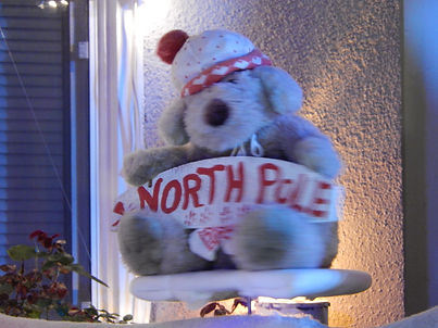 Winter Snowlad North Pole bear