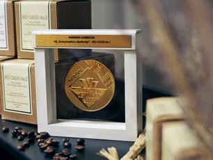 BIOCOS prekės ženklui sukurti namų kvepalai apdovanoti aukso medaliu