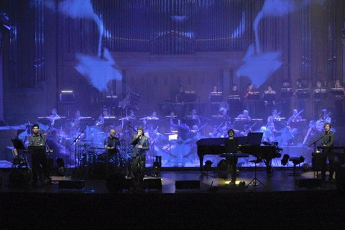 Laibach with symphonic orchestra RTV