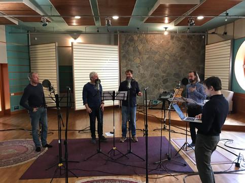 A cappella Audio Quattro recording