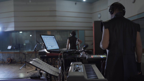 Sudar Percussion Ensemble at RSL studios