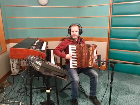 Orlek in the studio - again