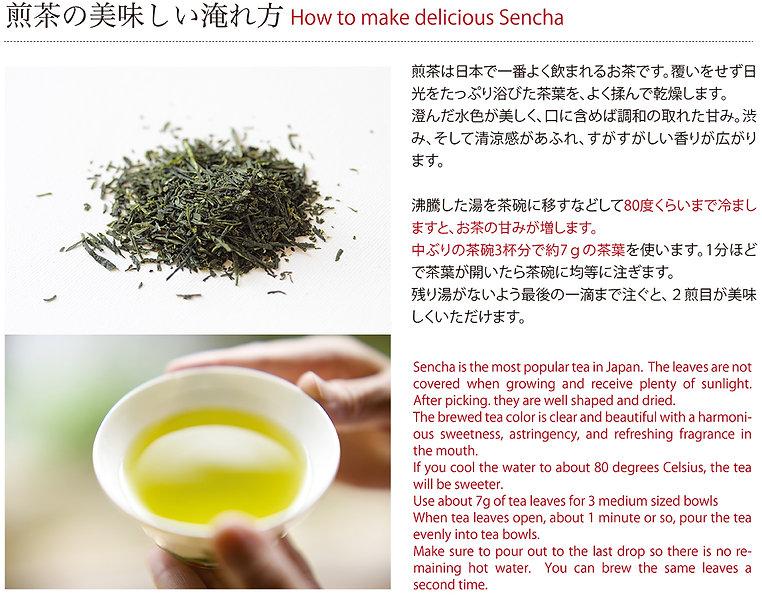京都宇治 茶濃香 煎茶の美味しい淹れ方