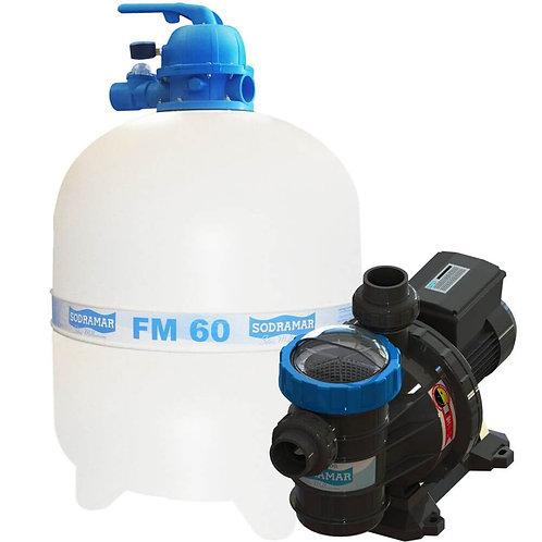Filtro FM-60 e Bomba Sodramar