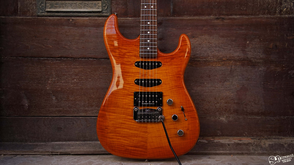 G&L Legacy Deluxe Honey Burst usa