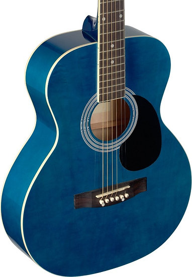Blue Acoustic Guitar Malta