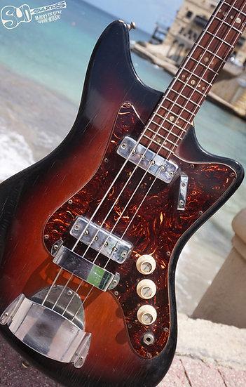 Egmond Tempest 2EBL3, Vintage Bass Guitar