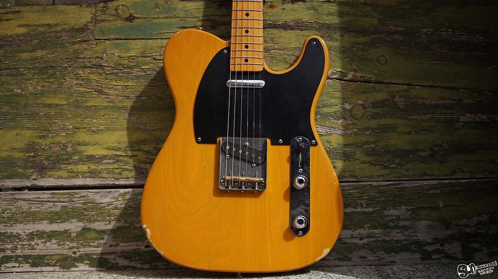 Fender Telecaster 52 reissue Japan Vintage | Squire logo