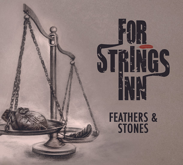 For Strings Inn - Feathers & Stones, Album Cover