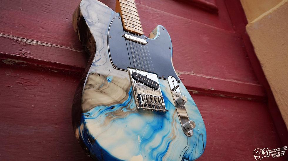 Fender Standard Telecaster Swirl MiM, Fender Mexican, Fender Telecaster Mexico, Mexican Fender Tele, Fender Telecaster Swirl