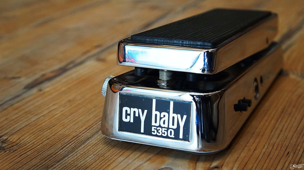 CRY BABY pedal 535Q