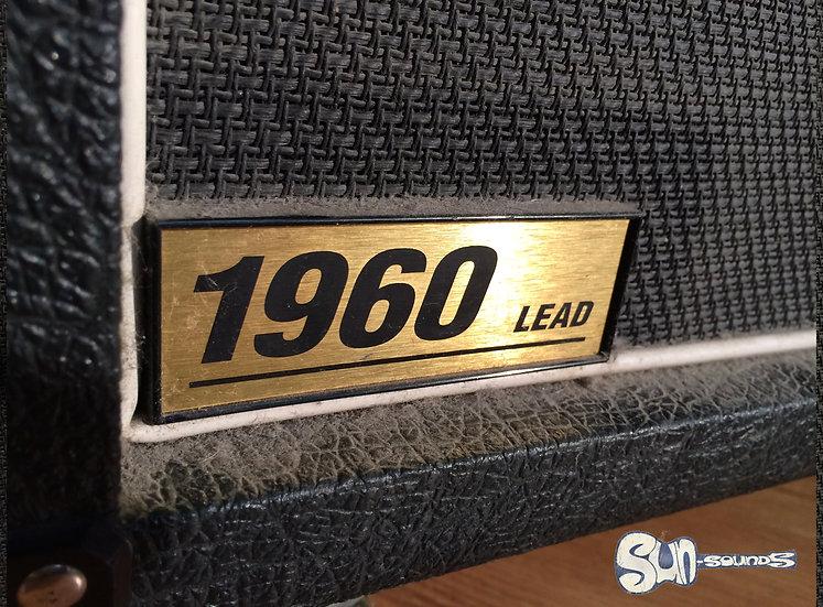 Marshall 1960B, Amplifier, Amp