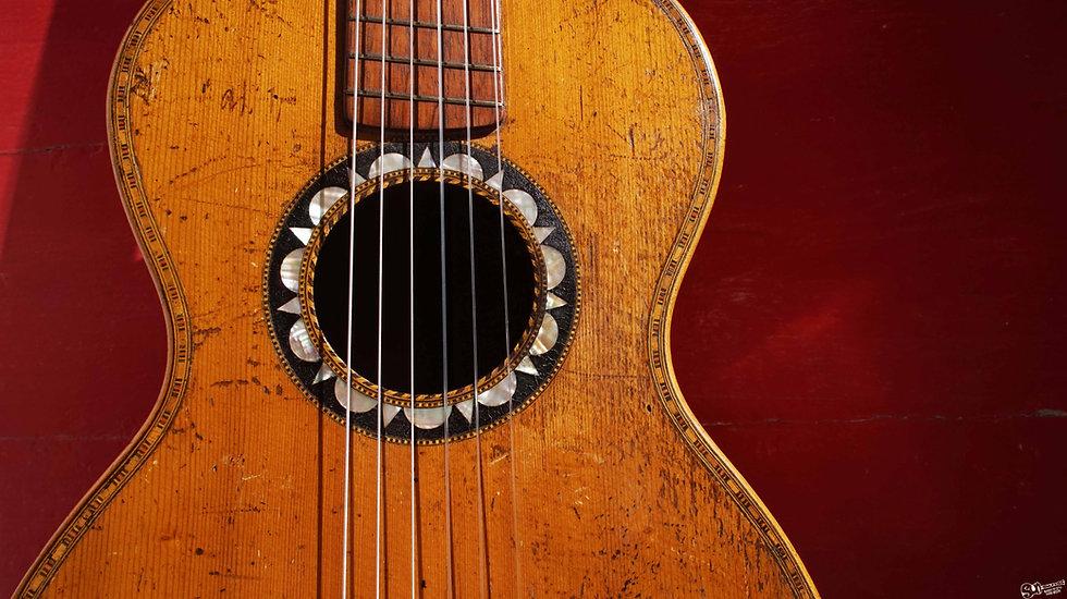 Romantic Guitar|1880's
