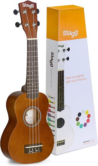 natural color ukulele