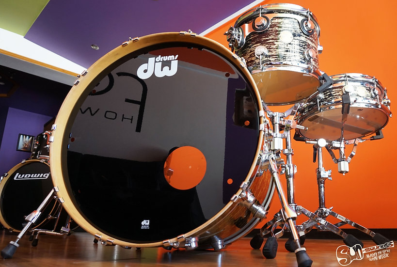 DW Collectors Series, Drums, Drum Kit