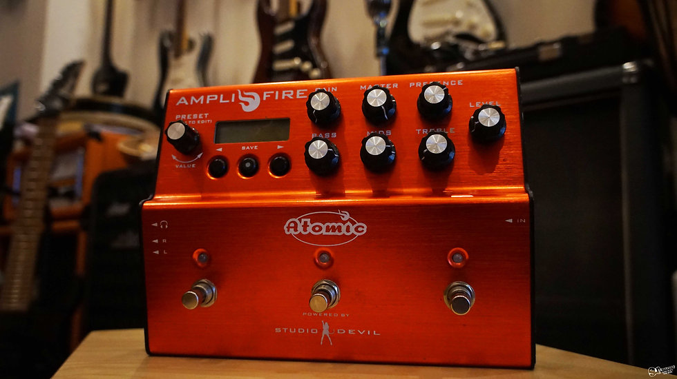 AMPLIFIRE | Amp tone & Multi-effects pedal