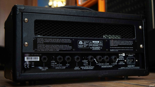 blackstar ht 5 metal 5 w tube guitar amp head. Black Bedroom Furniture Sets. Home Design Ideas