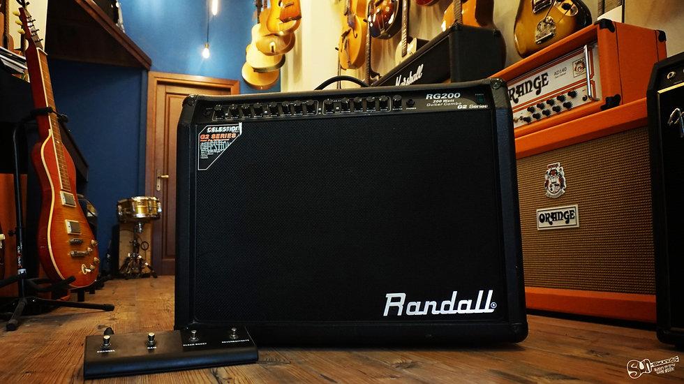 Randall RG 200, Amplifier, Amp, Randall Amp
