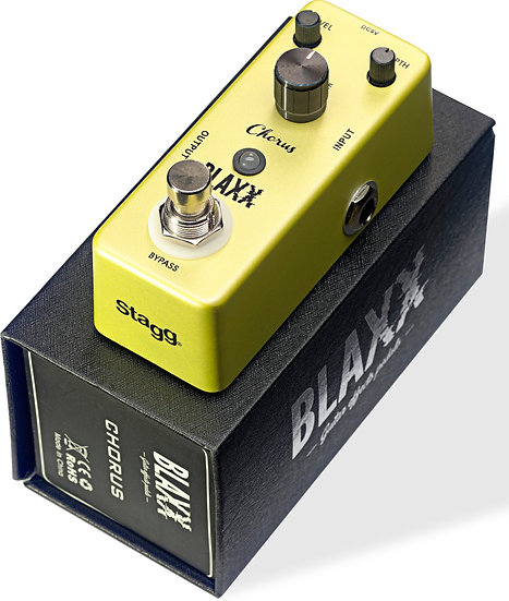 BLAXX Chorus pedal for electric guitar