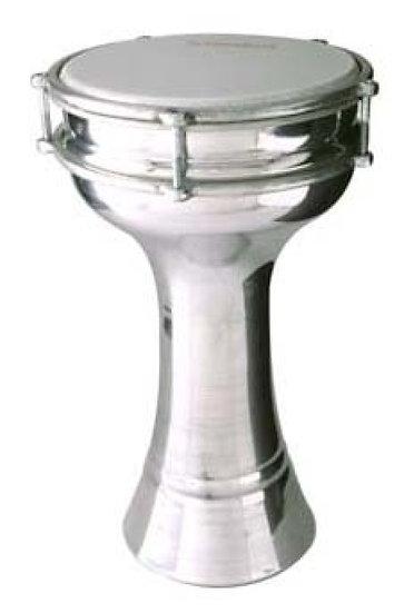 Plain Aluminium Darbuka 17cm