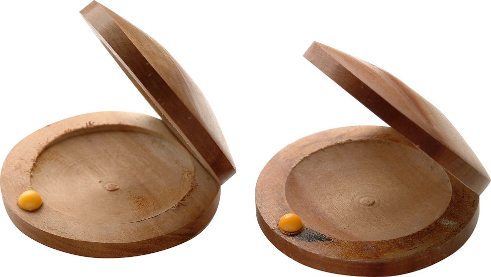 Wooden Jujube Castanets Malta
