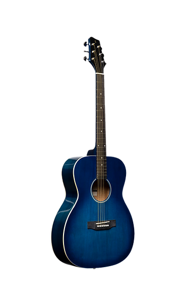 BLUE acoustic guitar in malta