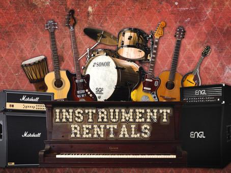 Instrument Rentals | Backline Malta