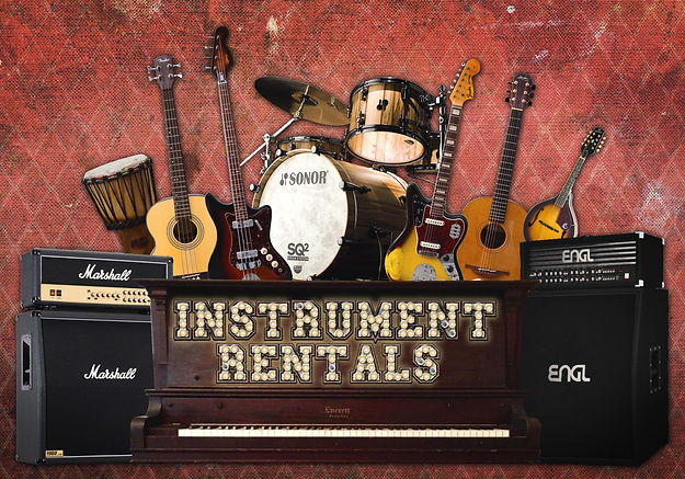 Backline Malta - Instrument Rental