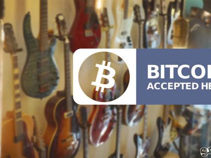 We accept Bitcoin @ Sun-Sounds
