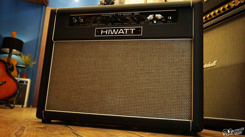 HIWATT amps europe