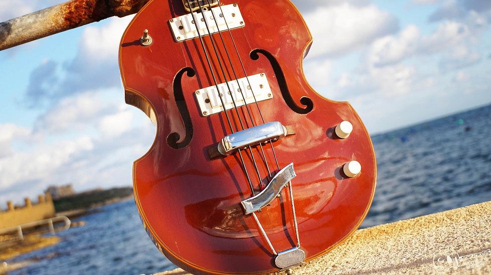 EKO Violin bass, Vintage Violin Bass, 60s Violin Bass