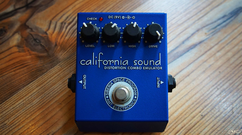 AMT California Sound Distortion Pedal