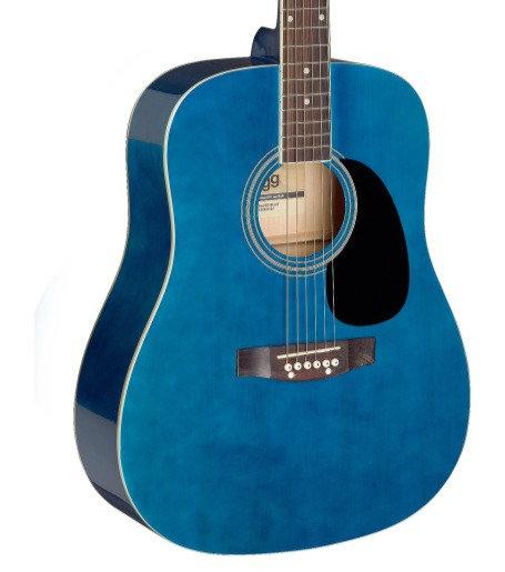 Acoustic guitar SA20D 3/4 Blue   Stagg