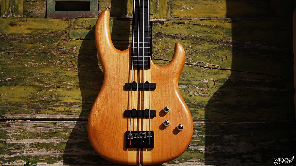 Carvin LB70 Lined Fretless Bass Guitar