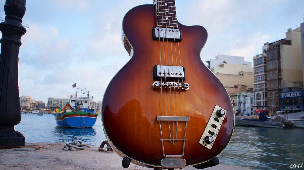 hofner electric guitar