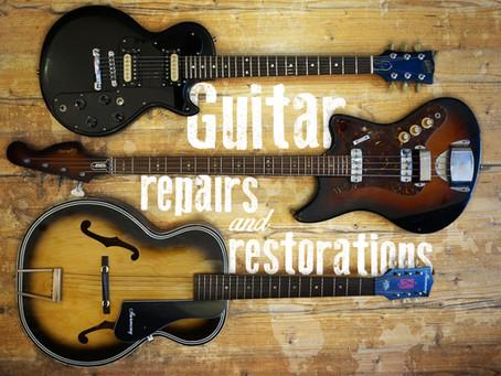 Guitar Repairs and Restoration