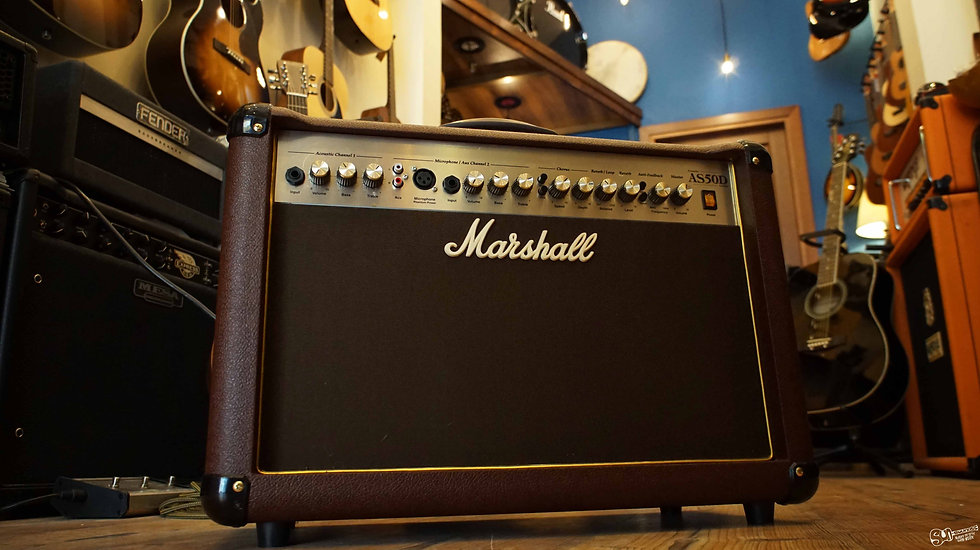 Marshall Acoustic Amplifier | AS50D-2