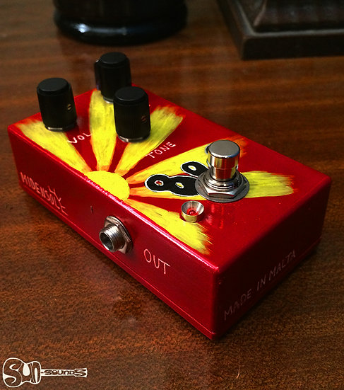 MIDENSOL  808, Pedal, Guitar Pedal, Midensol Pedal