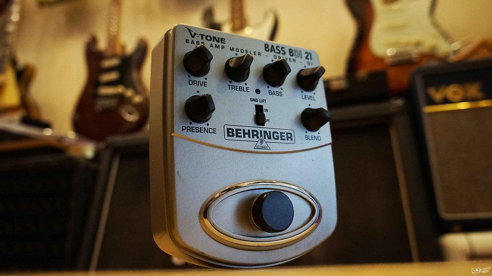 Behringer BASS BDI21| V-Tone Bass Driver Pedal