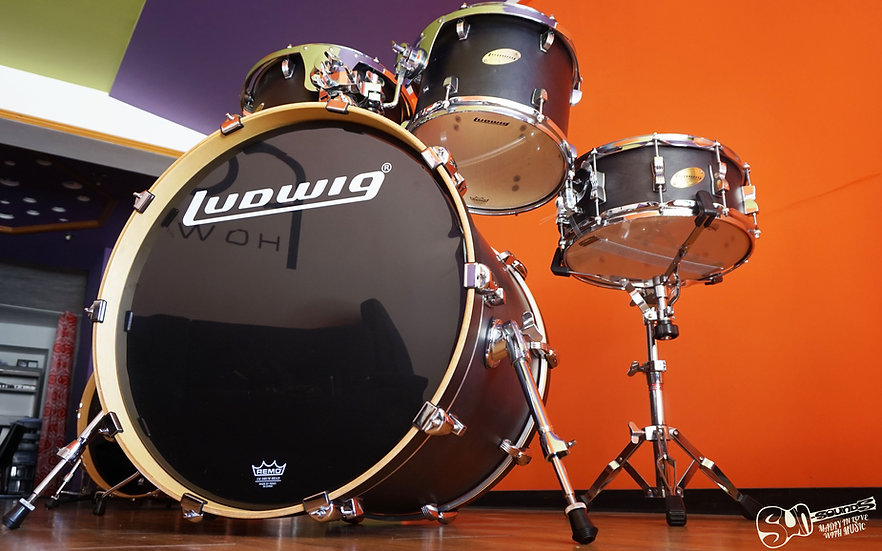 Ludwig Accent CS Custom, Drums, Drum Kit