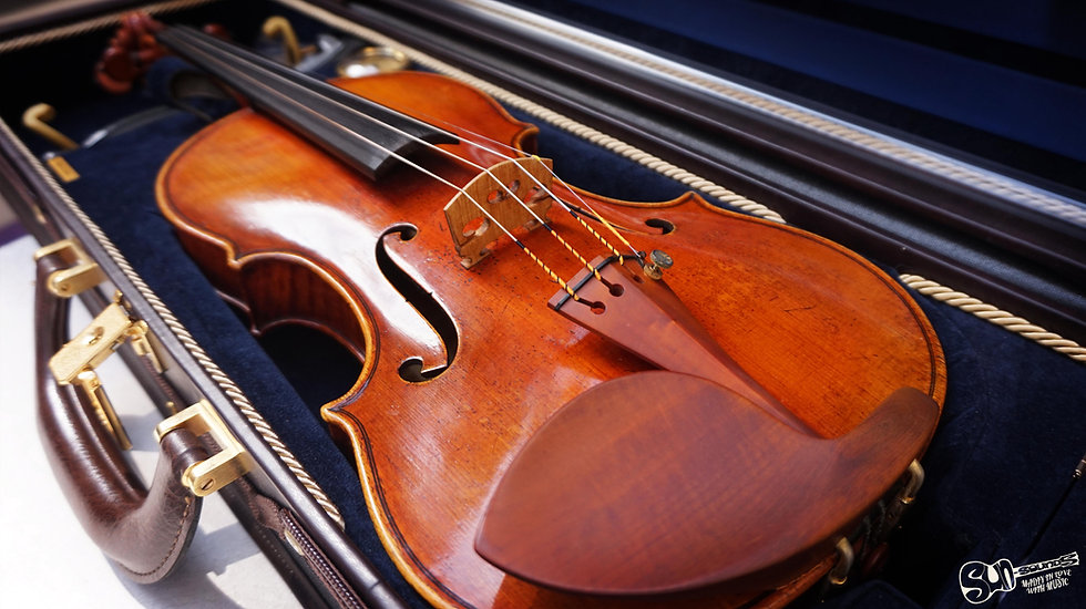 Gregg T. Alf, Violin, Fine Violin, Alf Violin, GA9334, Haddock Violin, Haddock Guarneri del Gesu, Violin Malta