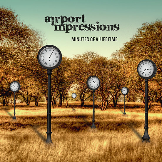 Airport Impressions - Minutes Of A Lifetime, Album Cover
