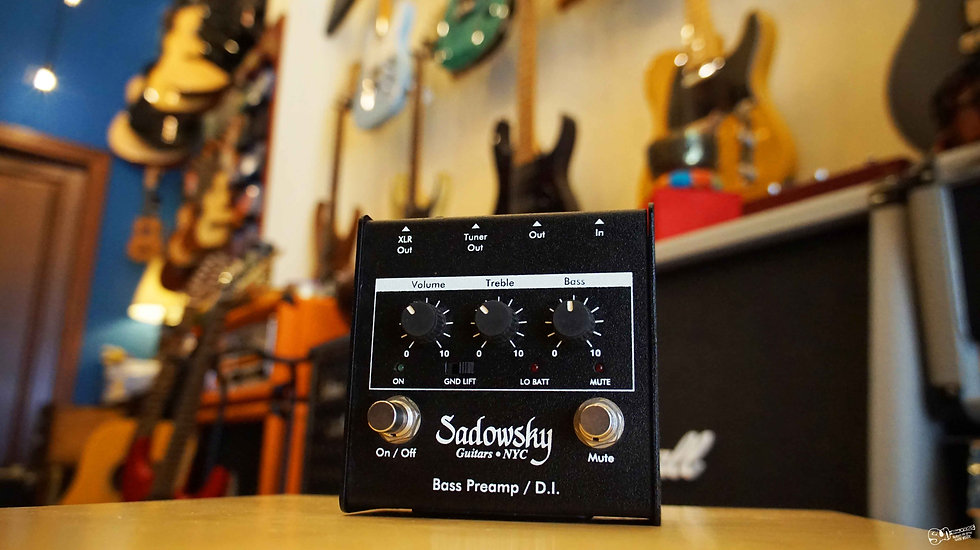 Sadowsky SBP-1 Preamp/DI Pedal