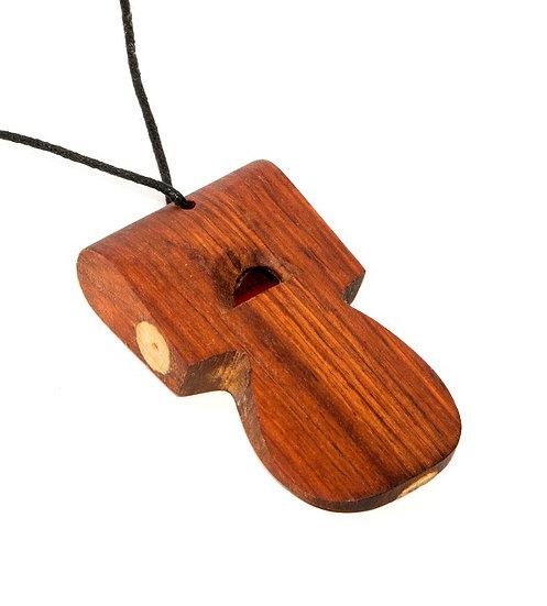 tone whistle necklace AFRO TON
