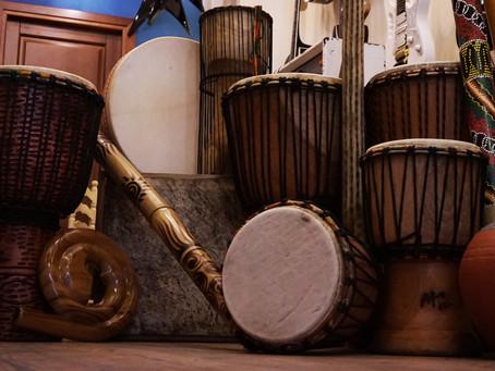 Afro-Ton percussion instruments in Malta