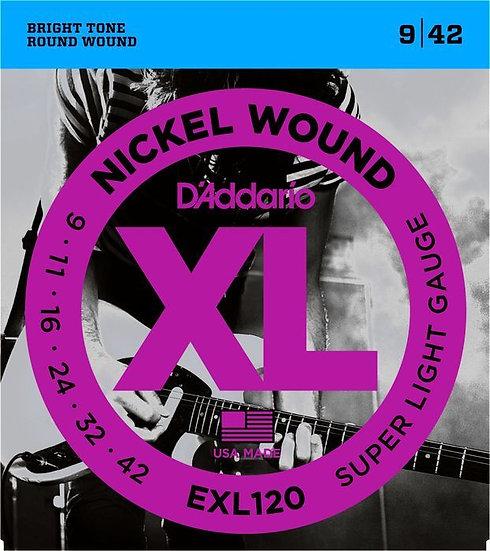 Strings | D'addario EXL120